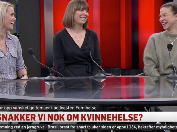 Oslo Kvinnehelsesenter og Femihelse på TV2 Nyhetskanalen
