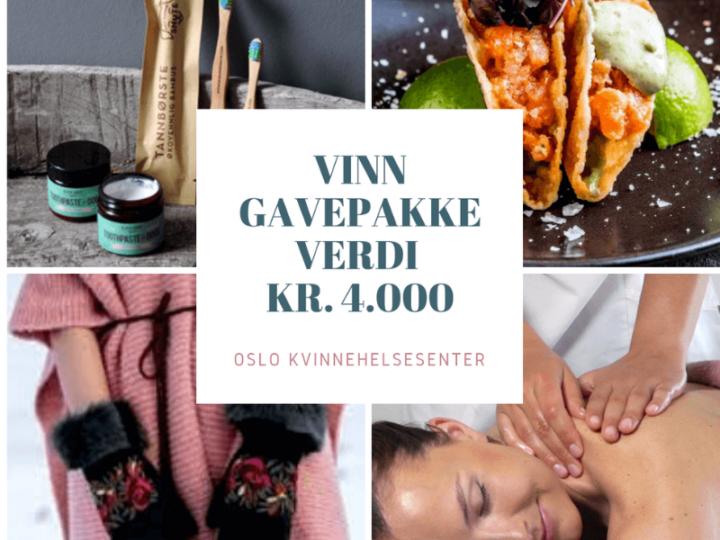 VINN GAVEPAKKE VERDI KR. 4000!