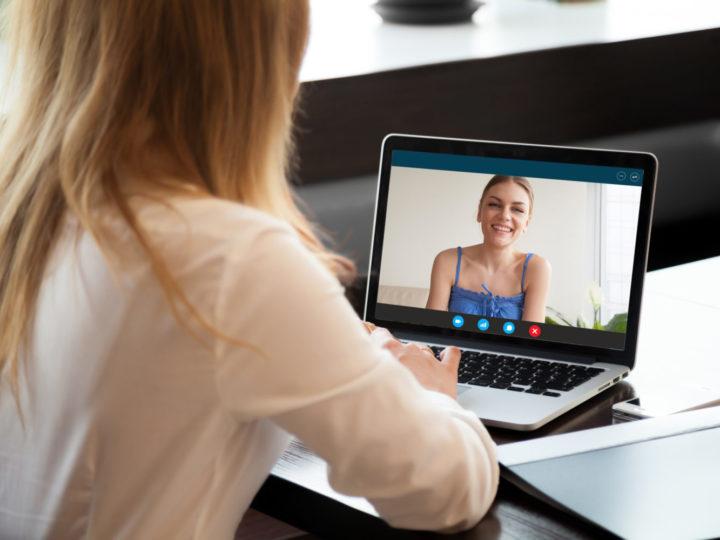 Online videokonsultasjon med våre terapeuter